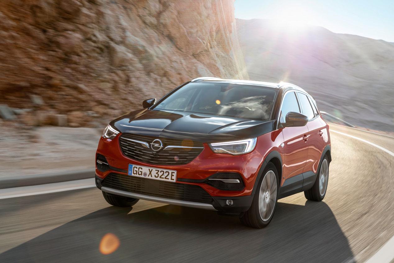 Opel Grandland X Hybrid4, el nuevo SUV híbrido enchufable de la marca