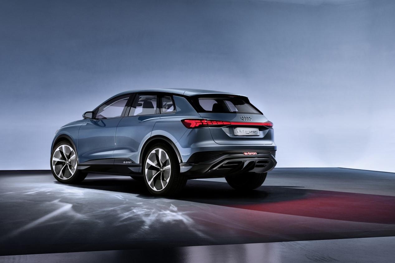 Audi Q4 e-tron Concept: anticipando el futuro SUV eléctrico