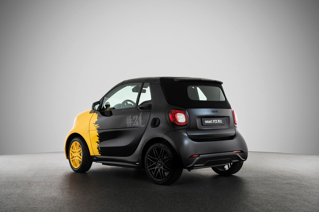 Smart Final Collector's Edition, adiós a los motores de combustión