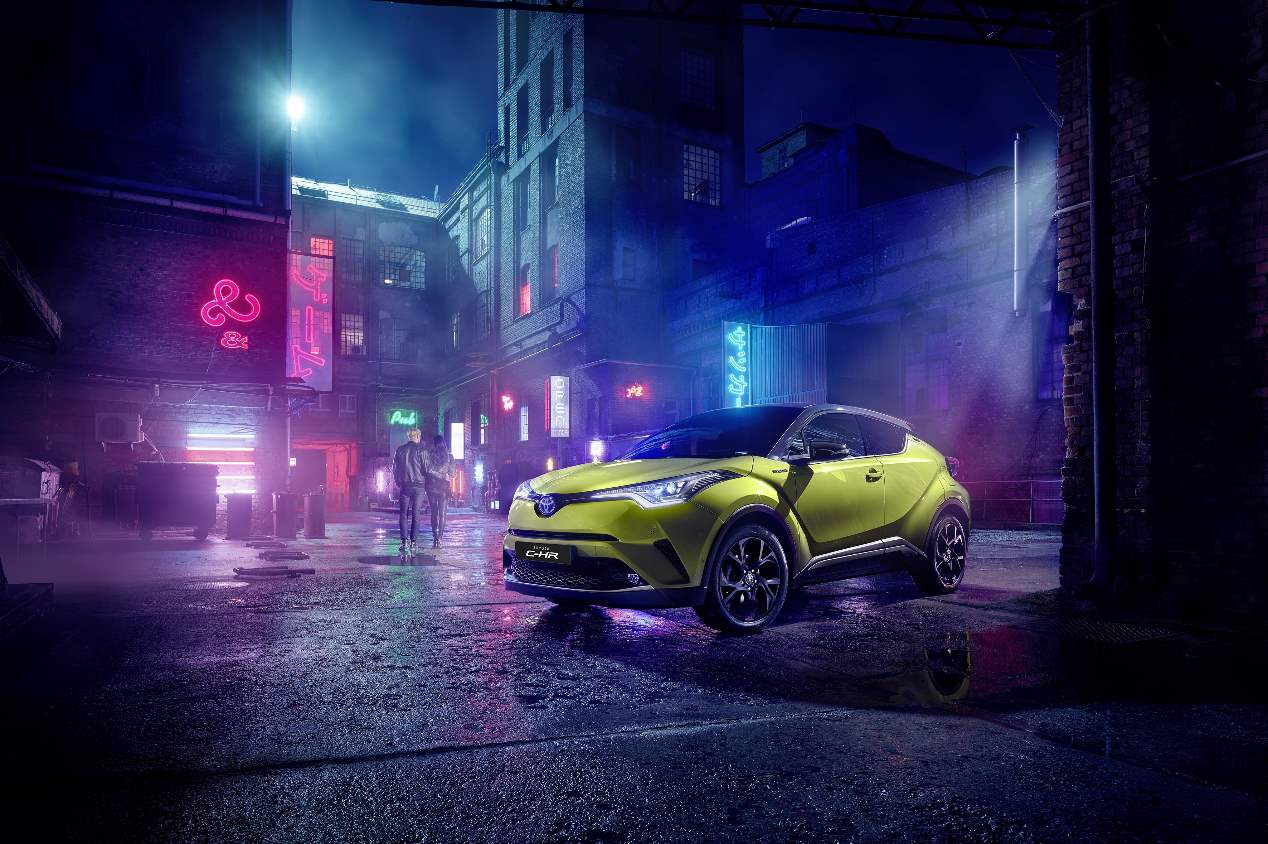 El Toyota C-HR Limited Edition, en fotos
