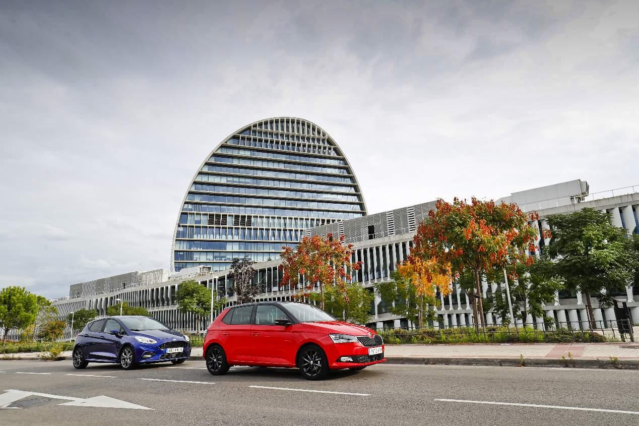 Comparativa de gasolina: Ford Fiesta vs Skoda Fabia