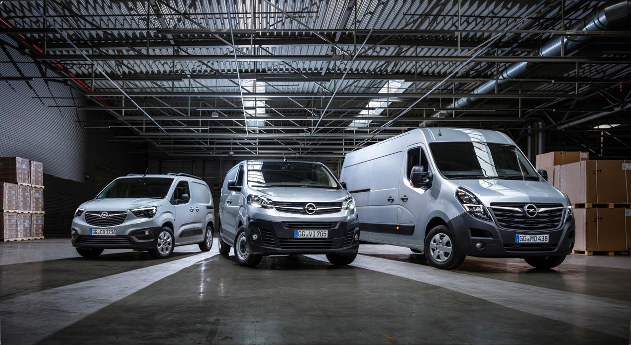 Opel Movano 2019: 150 versiones diferentes y más tecnología