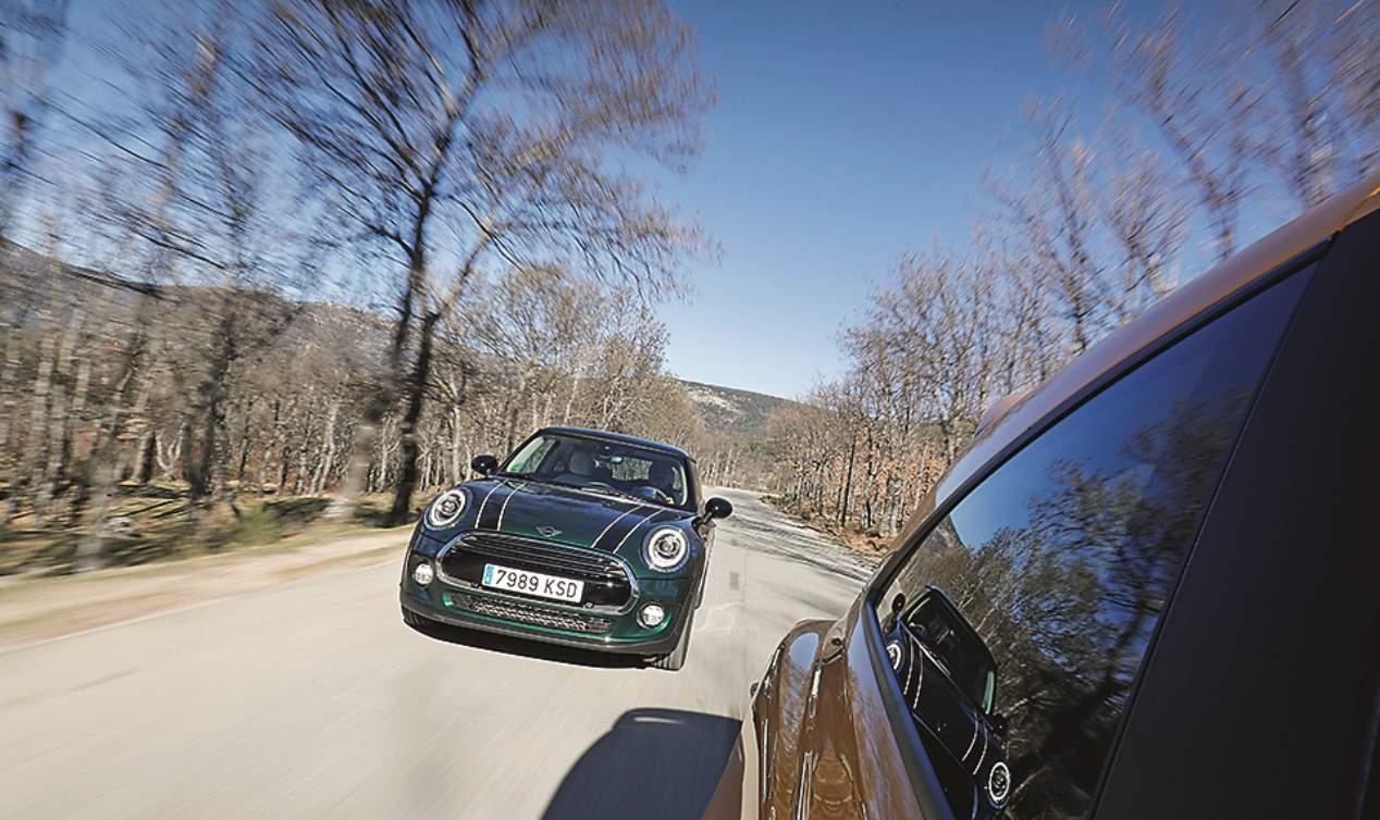 A prueba los Mini Cooper y Opel Corsa GSI