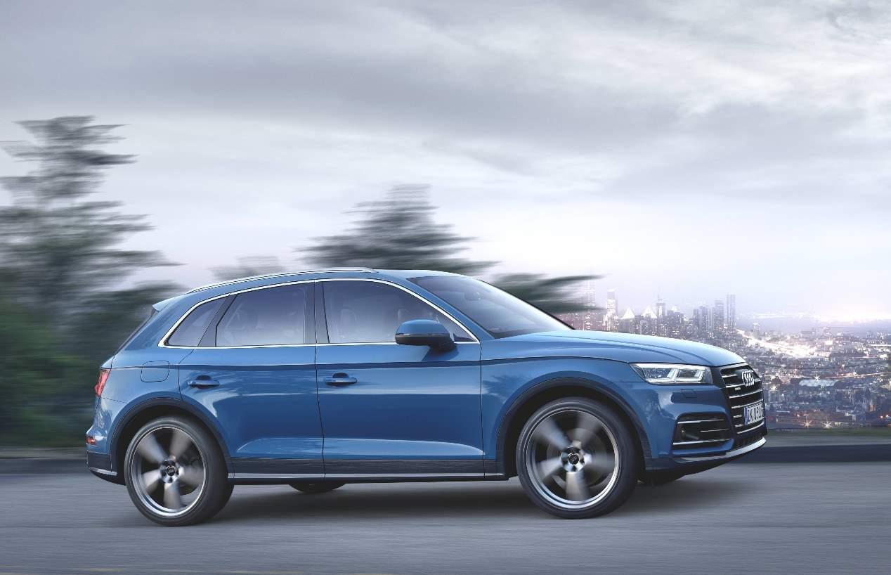 Audi Q5 55 TFSIe quattro: en fotos, el nuevo SUV híbrido enchufable