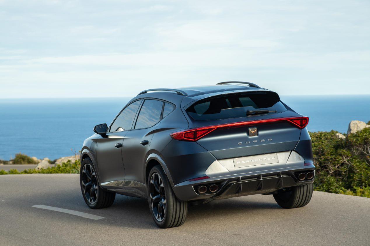 Cupra Formentor: nuevas fotos del próximo SUV coupé compacto