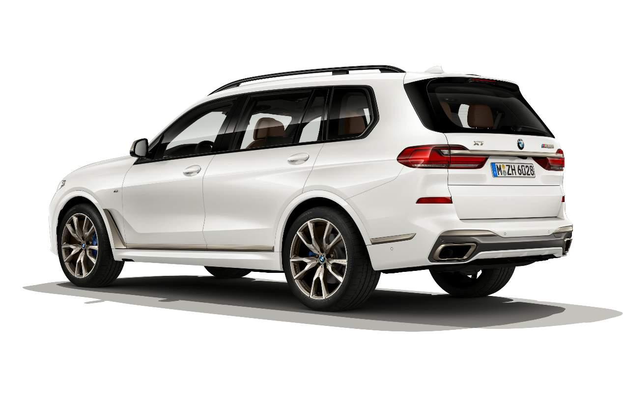 Los nuevos BMW X5 y X7 M50i 2019, en fotos
