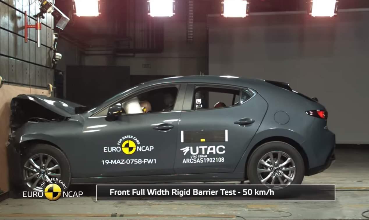 Los nuevos Mazda3, RAV4 y Corolla, Clio, T-Cross, e-tron y UX, cinco estrellas Euro NCAP