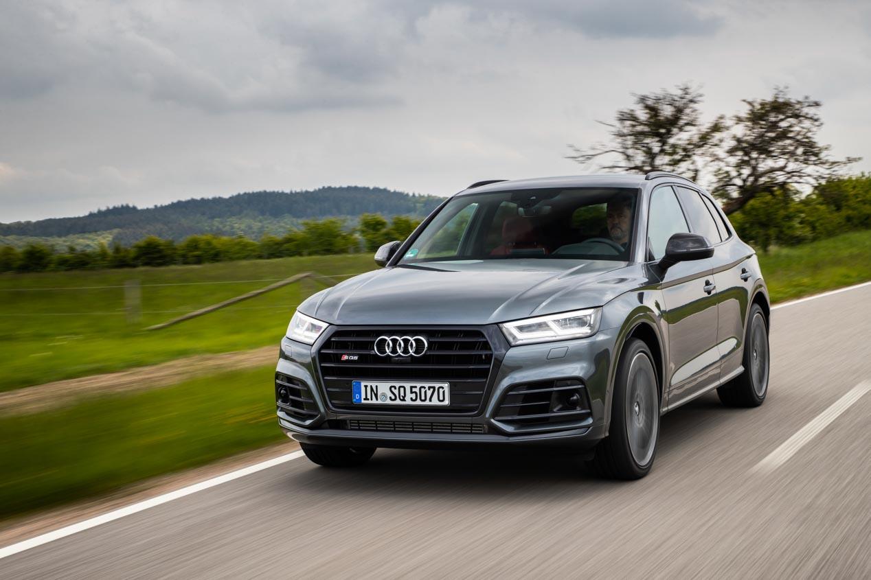 Audi Q3 Sportback, SQ5, e-tron... tres de los siete nuevos SUV de Audi en 2019