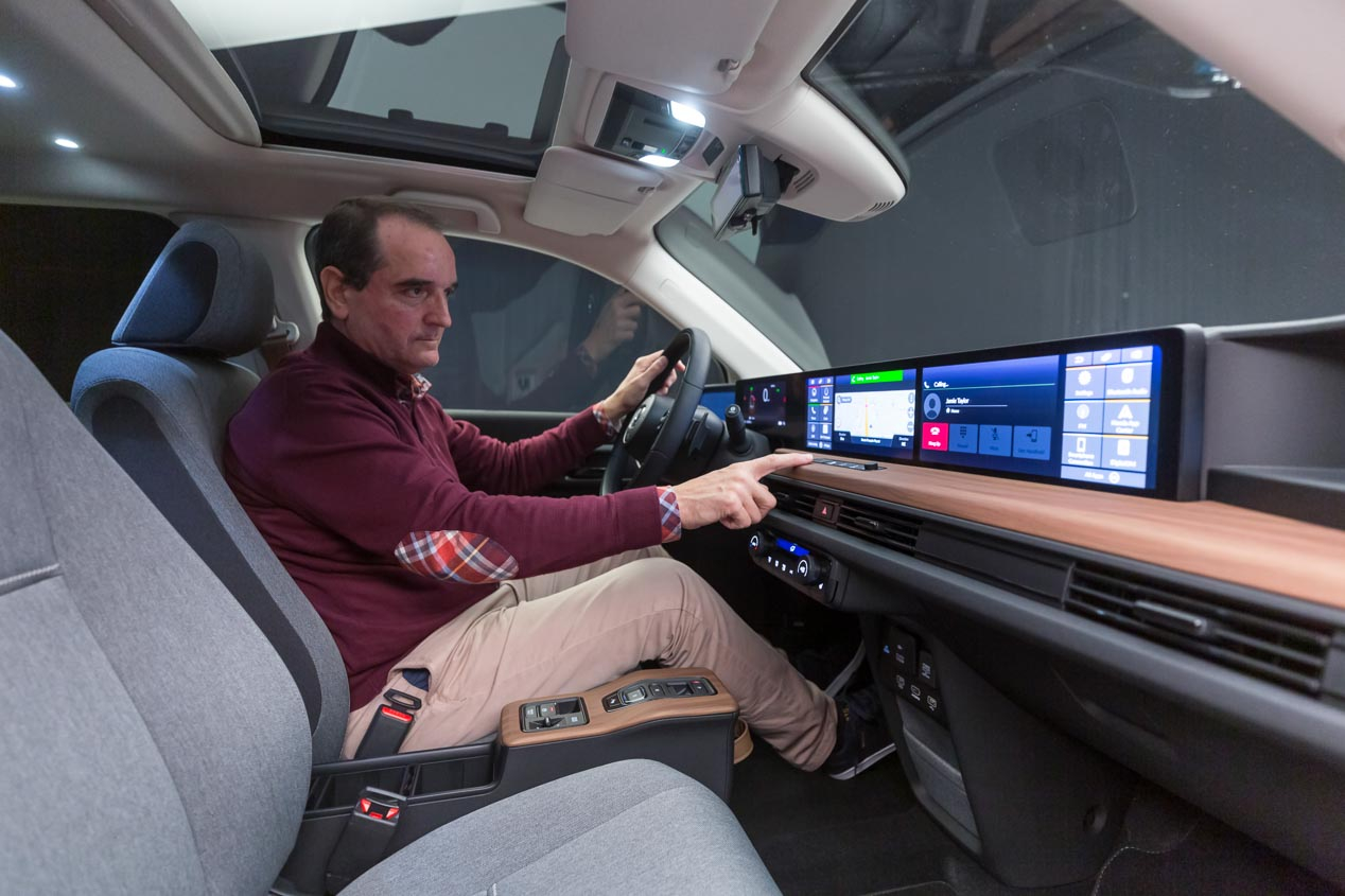El Honda e llevará retrovisores digitales en su versión definitiva