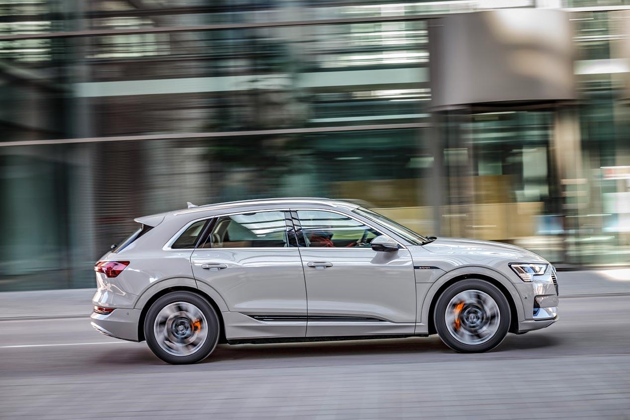 Duelo de SUV eléctricos: Audi e-tron vs Tesla Model X