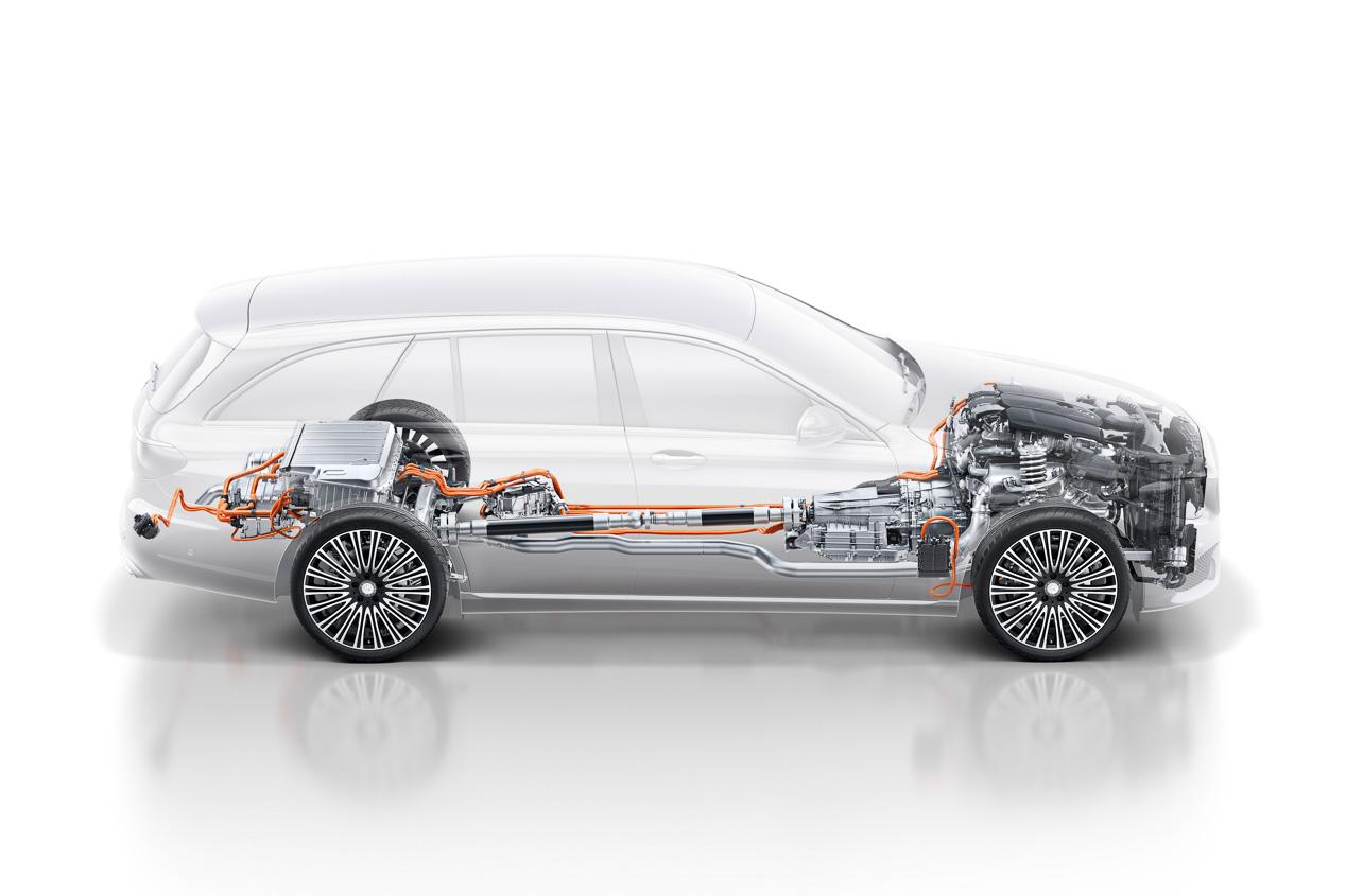 Mercedes E 300 de: así es el híbrido Diesel enchufable de Mercedes