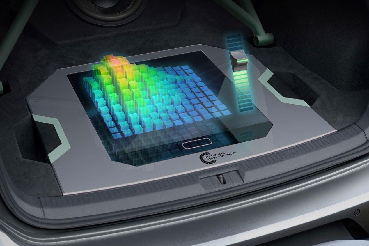 Hologramas en Volkswagen: así será el manejo del coche en el futuro.