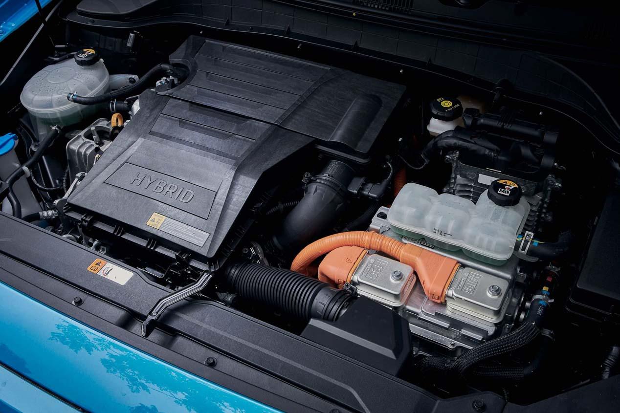 Hyundai Kona Hybrid: con un consumo de sólo 3,9 l/100 km