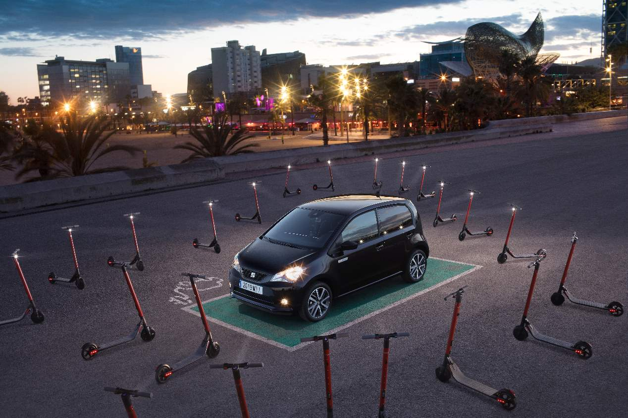 Seat Mii electric 2020: las fotos oficiales del nuevo Mii eléctrico