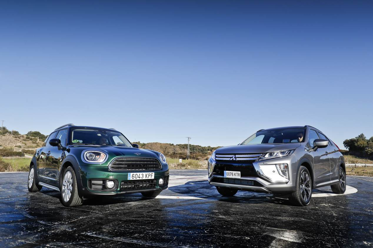 Comparativa: Mini Countryman Cooper D All4 vs Mitsubishi Eclipse Cross 220 DI-D