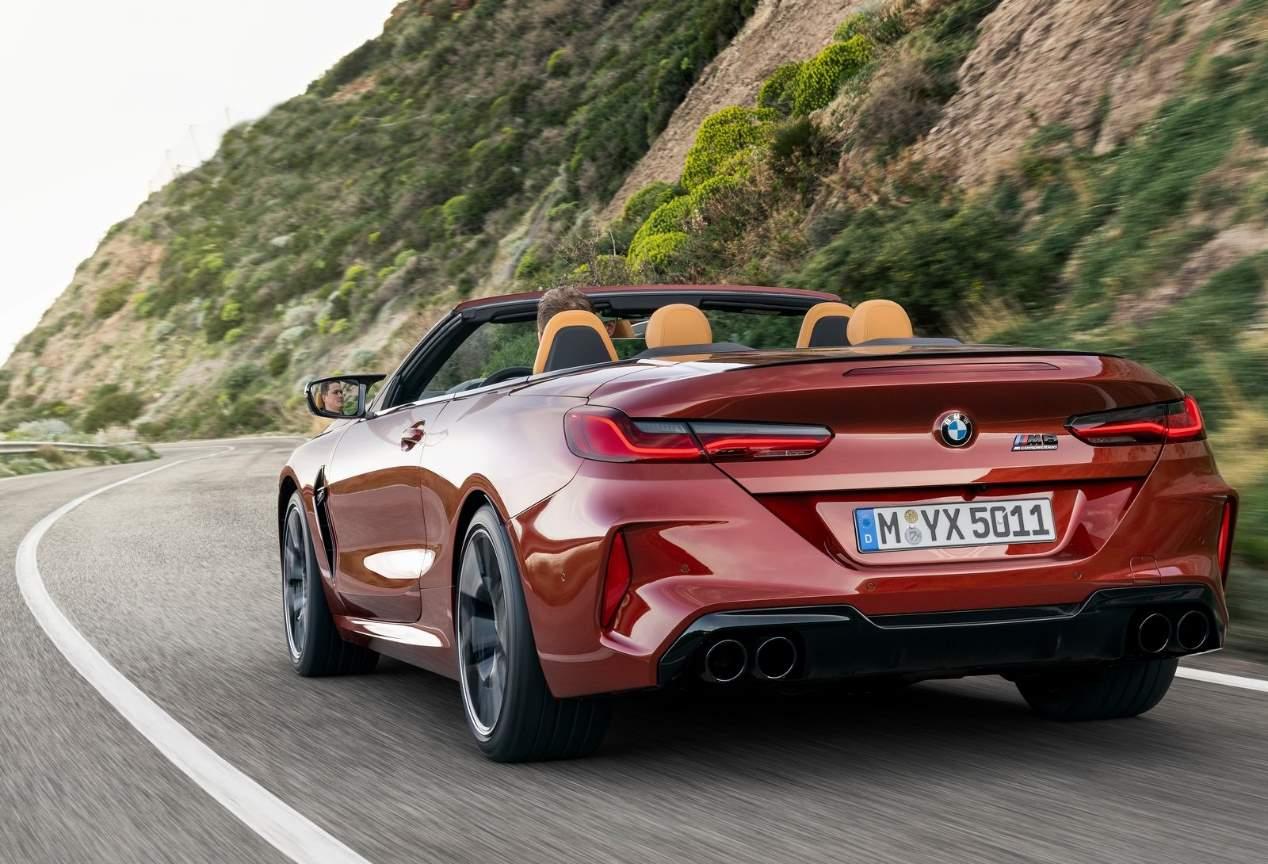 Los BMW M8 Competition Coupé y Cabrio 2019, en fotos