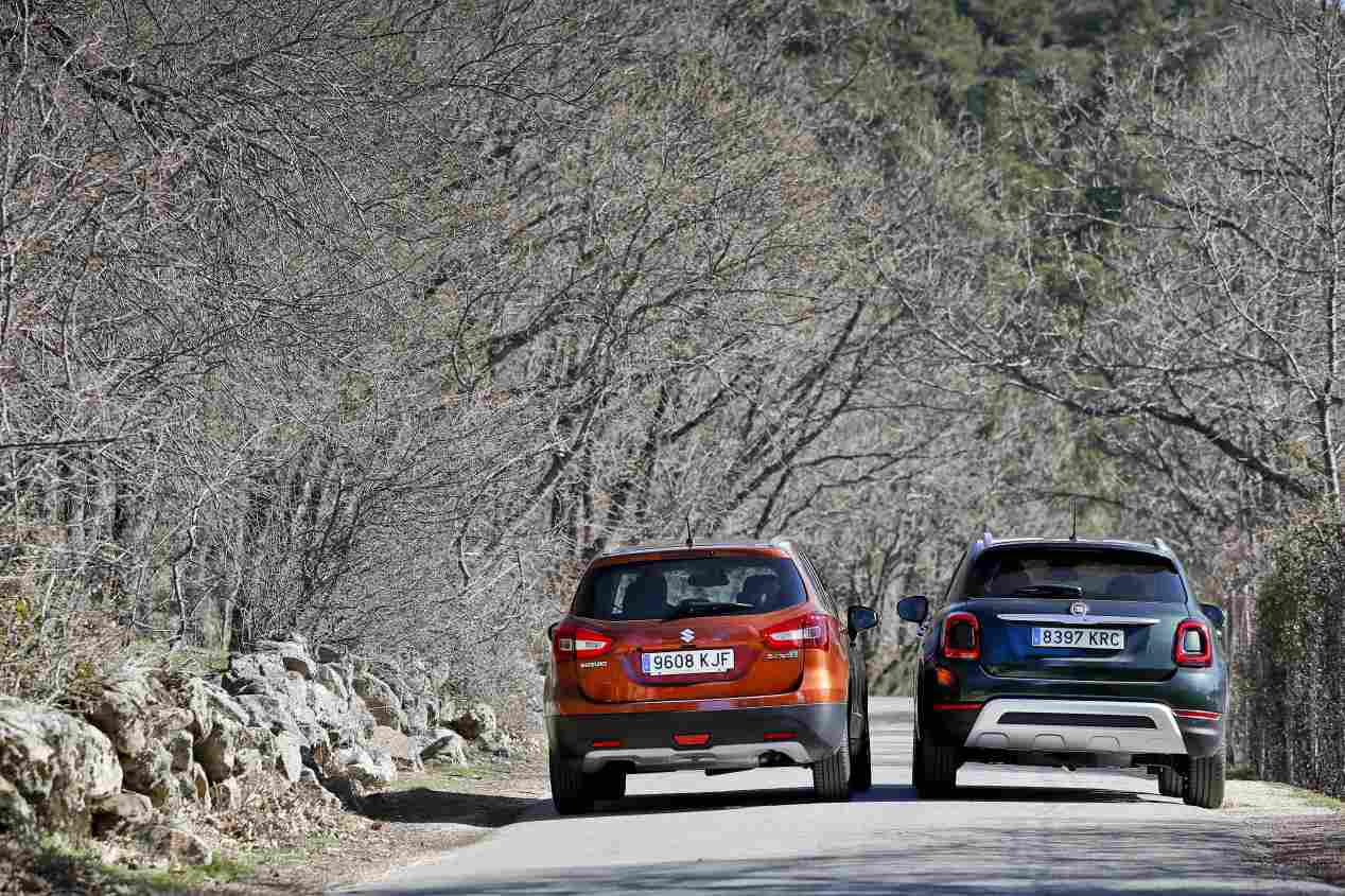 Comparativa: Fiat 500X 1.0 Firefly vs Suzuki S-Cross 1.0 VVT