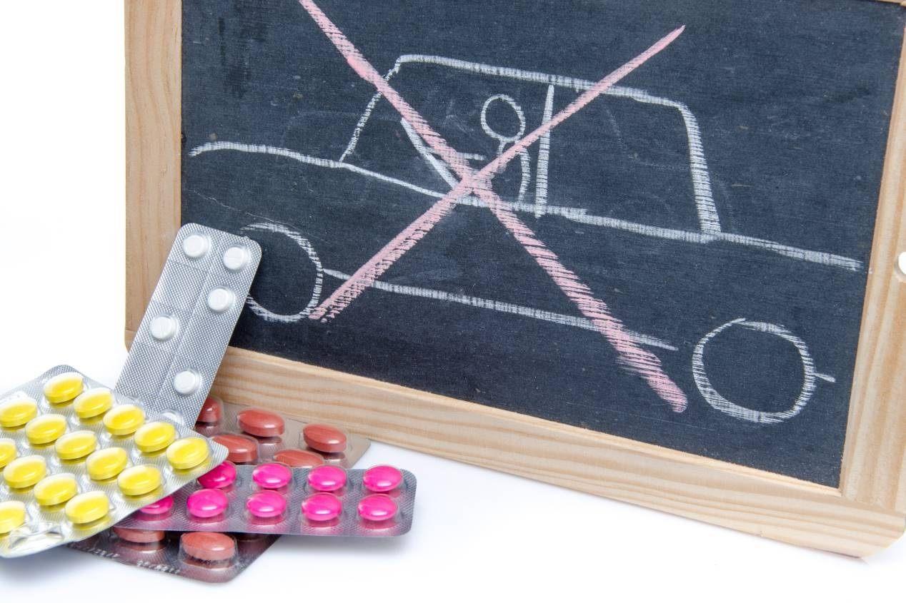 Los medicamentos y sus efectos en la conducción