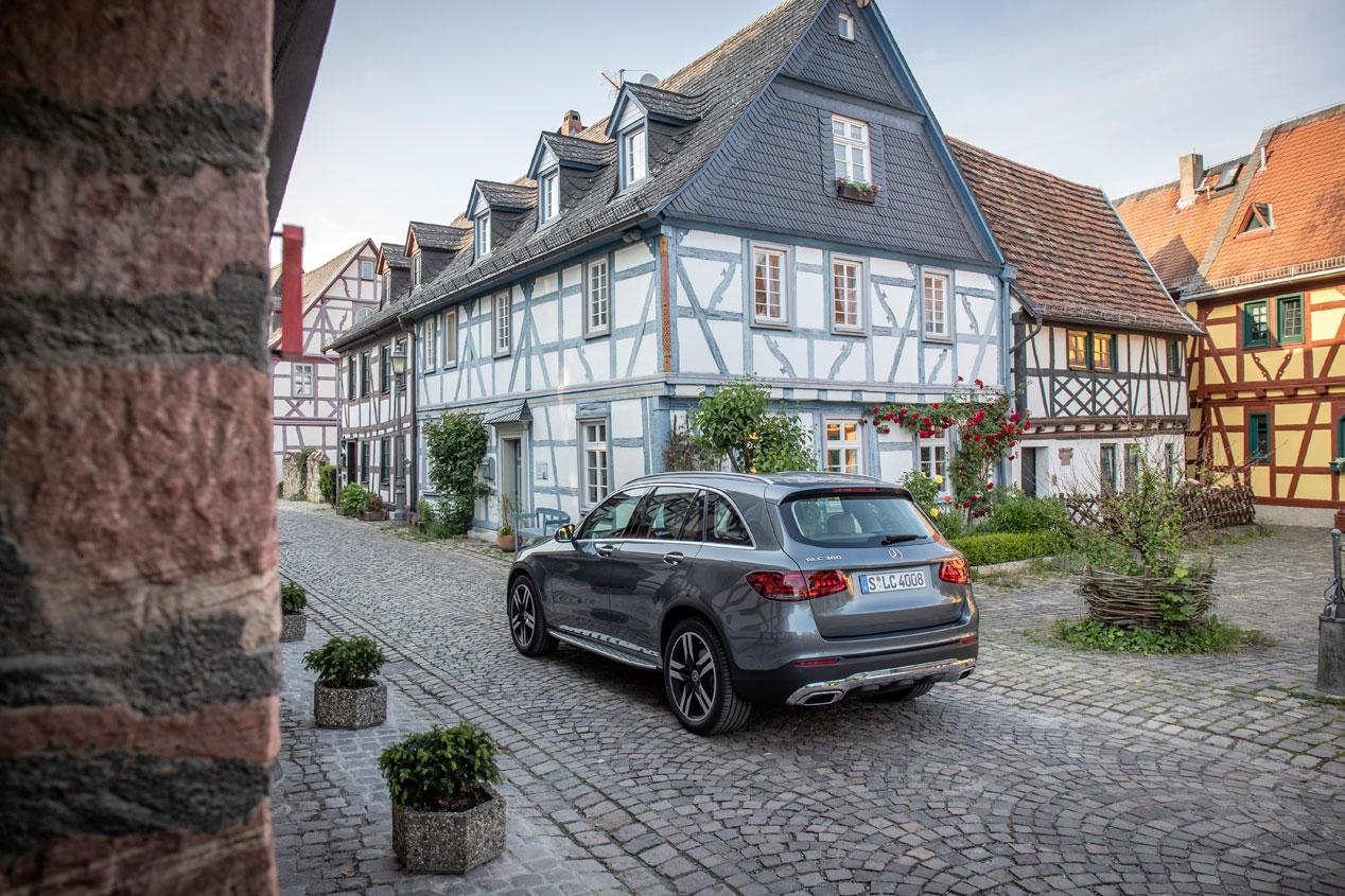 Mercedes GLC y GLC Coupé, las mejores fotos del renovado SUV