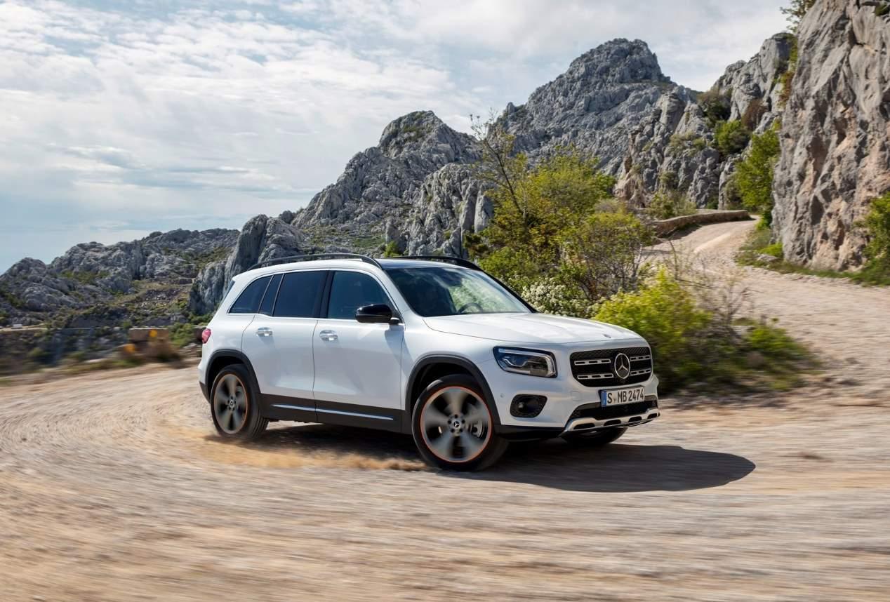 Mercedes GLB 2019: las mejores fotos oficiales del nuevo SUV