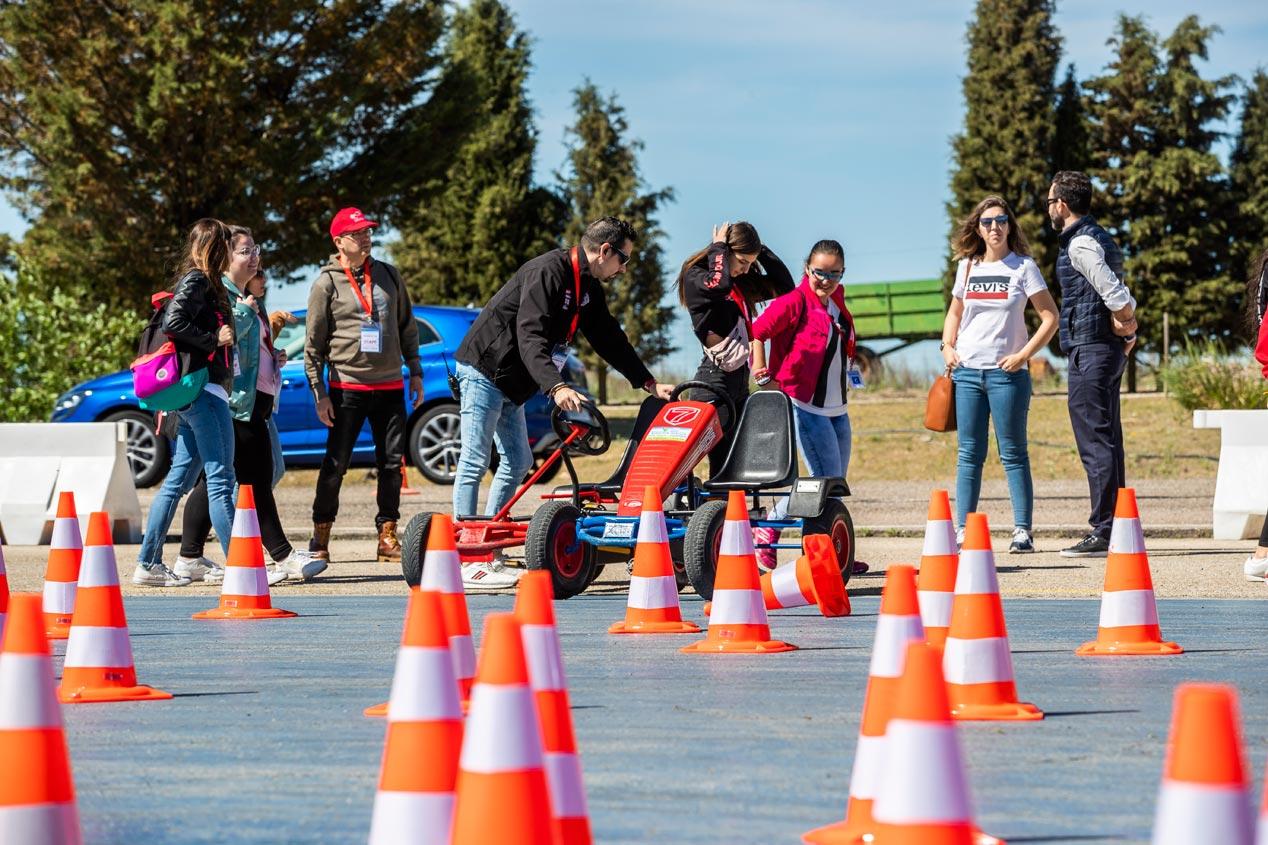 Una jornada de seguridad vial con la Fundación Cepsa