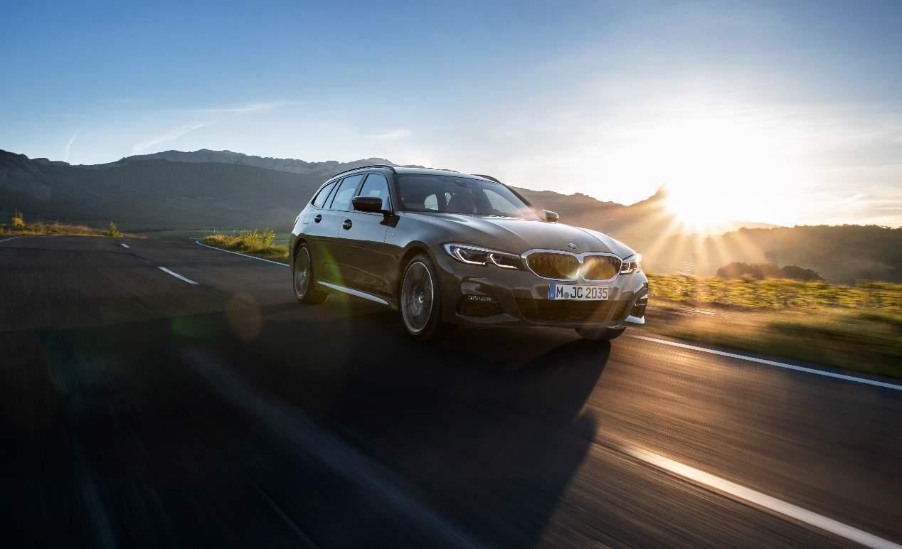 El nuevo BMW Serie 3 Touring 2019 familiar, en fotos