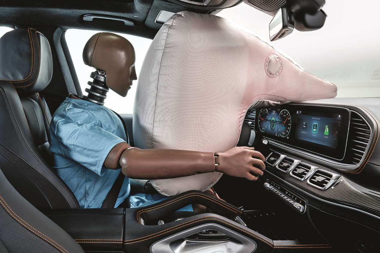 Mercedes ESF: el vehículo experimental de seguridad