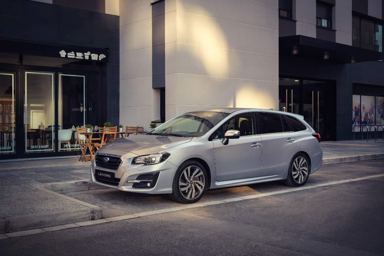 El Subaru Levorg 2019, en fotos