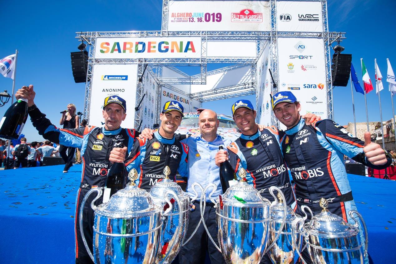 Las mejores imágenes de Sordo y Hyundai en el Rally de Italia 2019
