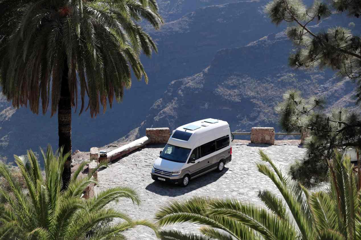 VW Grand California 2019: todas las fotos de la nueva gran camper
