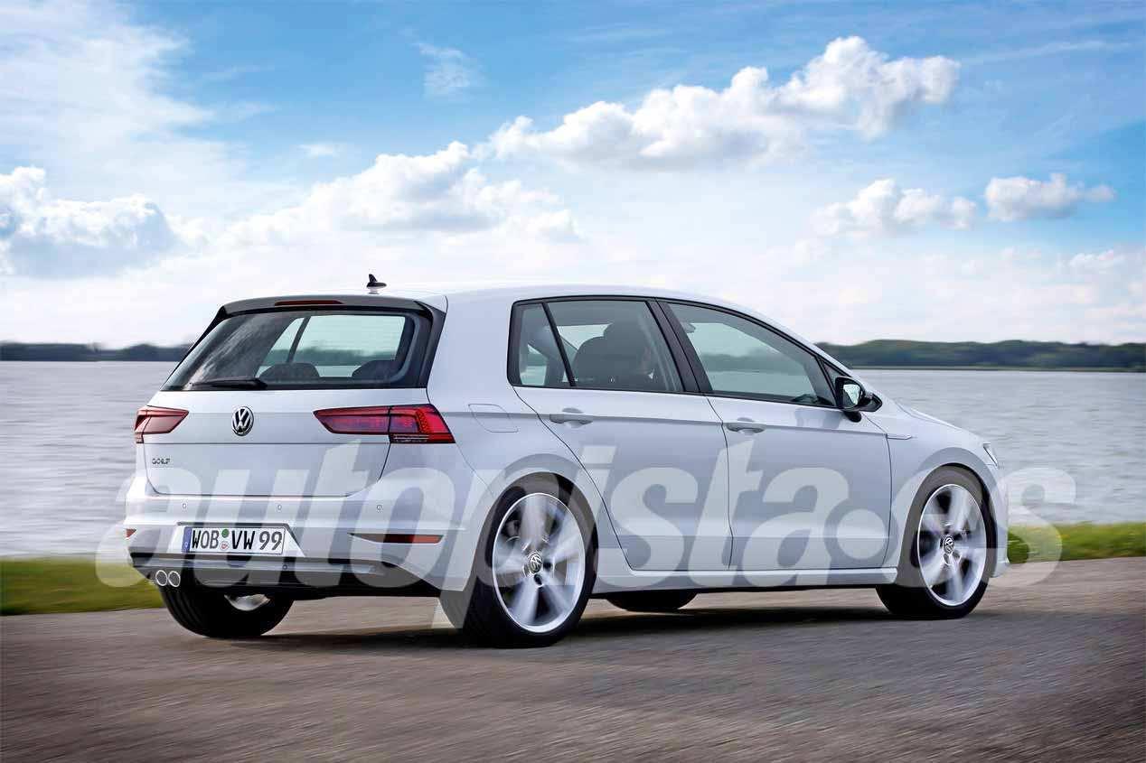Volkswagen Golf 8: primeras fotos reales del nuevo compacto