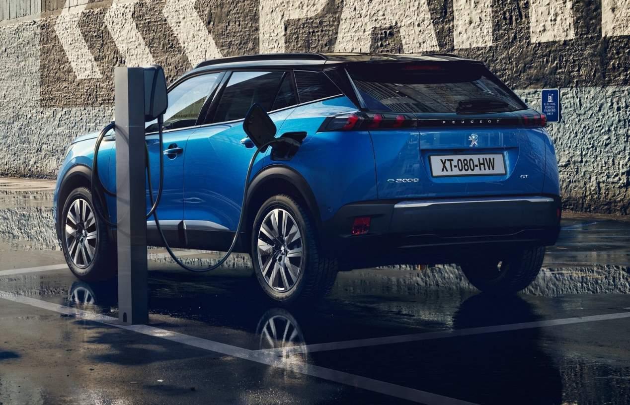 Peugeot e-2008 2020: las mejores fotos del nuevo SUV eléctrico