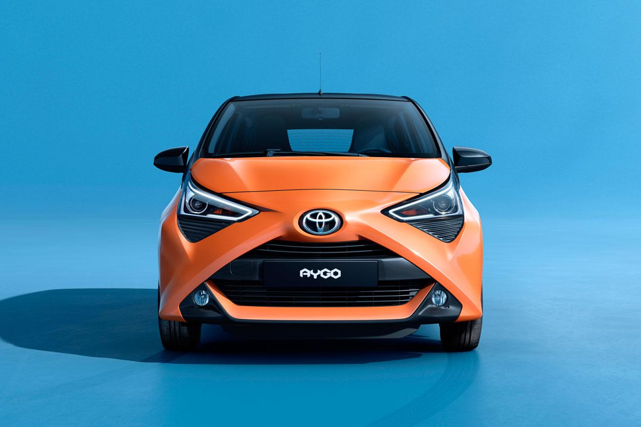 Toyota Aygo x-cite, urbano, llamativo y muy equipado