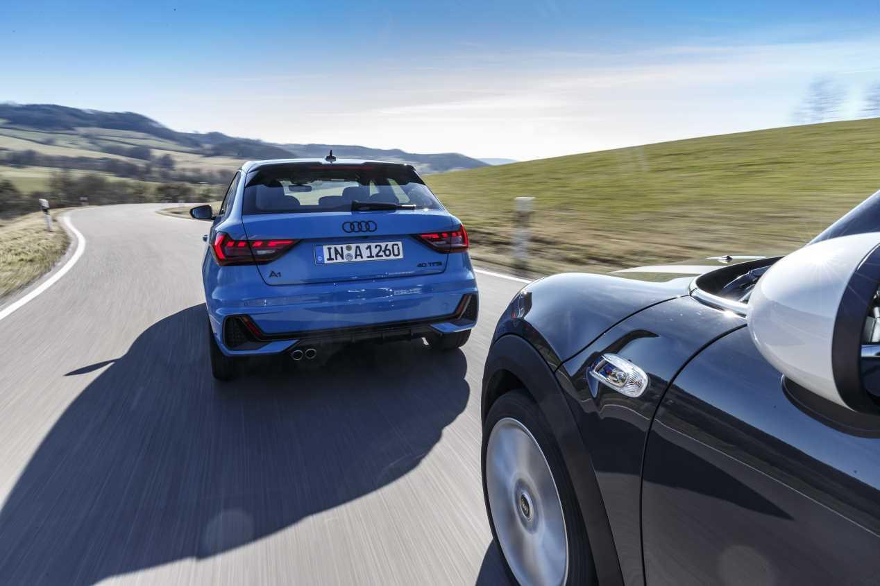 Comparativa: Audi A1 Sportback 40 TFSi vs Mini Cooper S