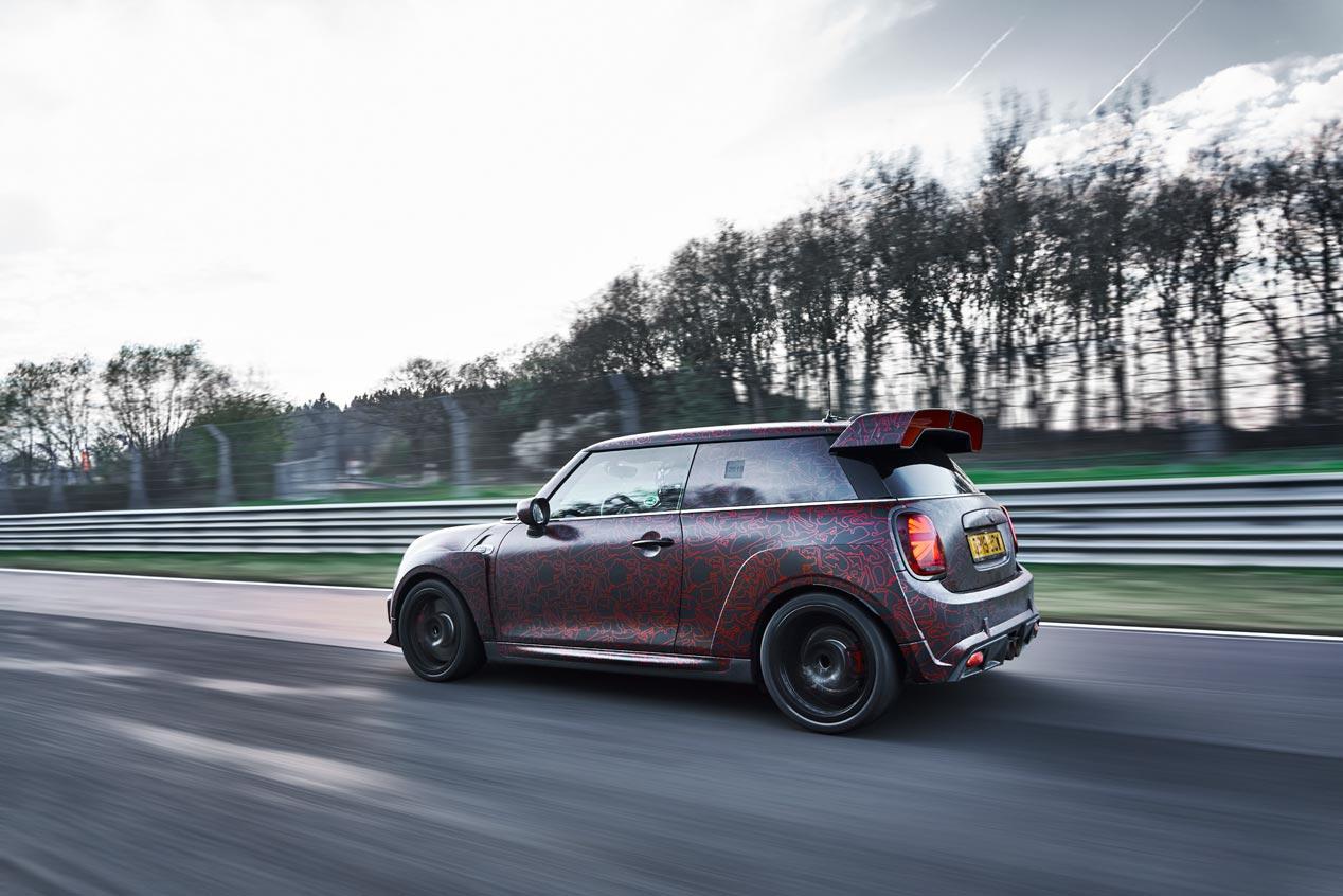 El Mini John Cooper Works GP 2020, rodando en Nürburgring