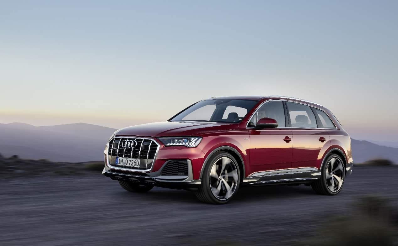 Audi Q7 2019: las nuevas fotos oficiales del renovado SUV