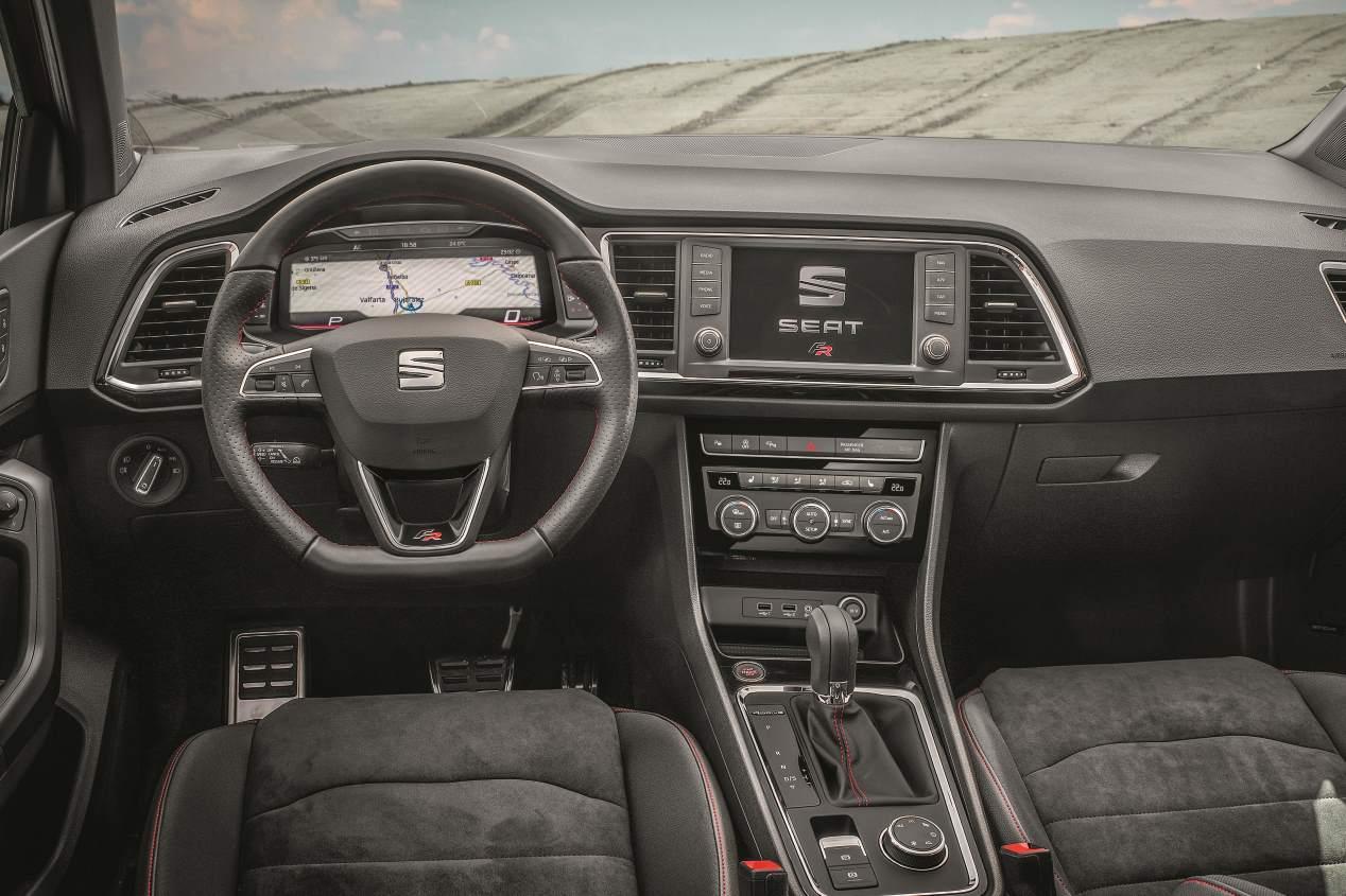 Seat Ateca 2.0 TSI/190 DSG7 4Drive FR: probamos el SUV deportivo