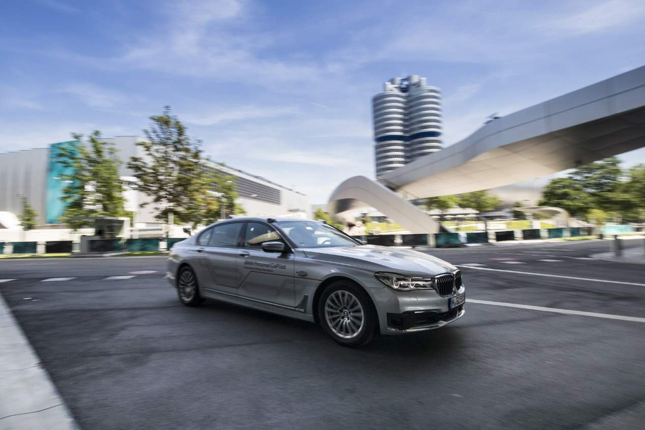 BMW Serie 7 Prototype #NEXTGen, ¿el coche autónomo más avanzado?