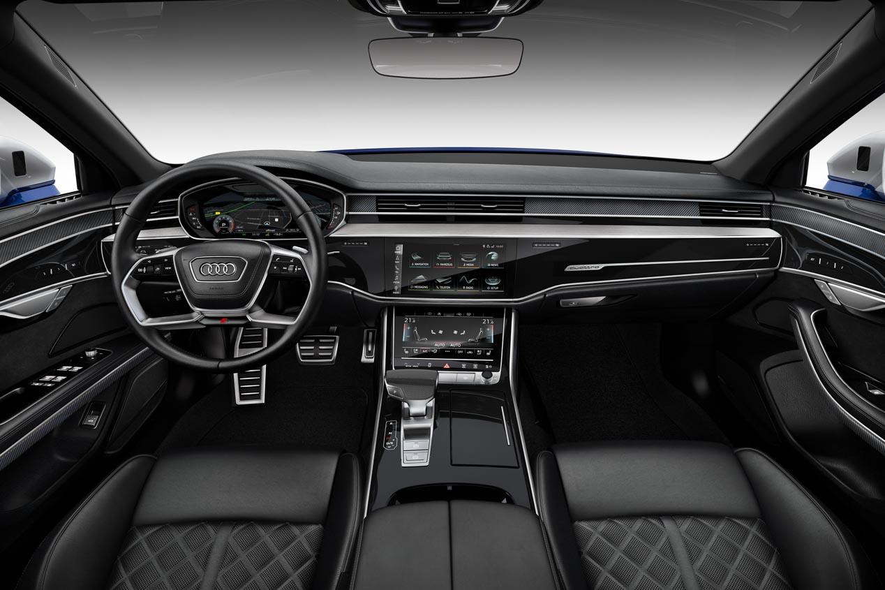 Audi S8: máximas prestaciones para la gran berlina de Audi
