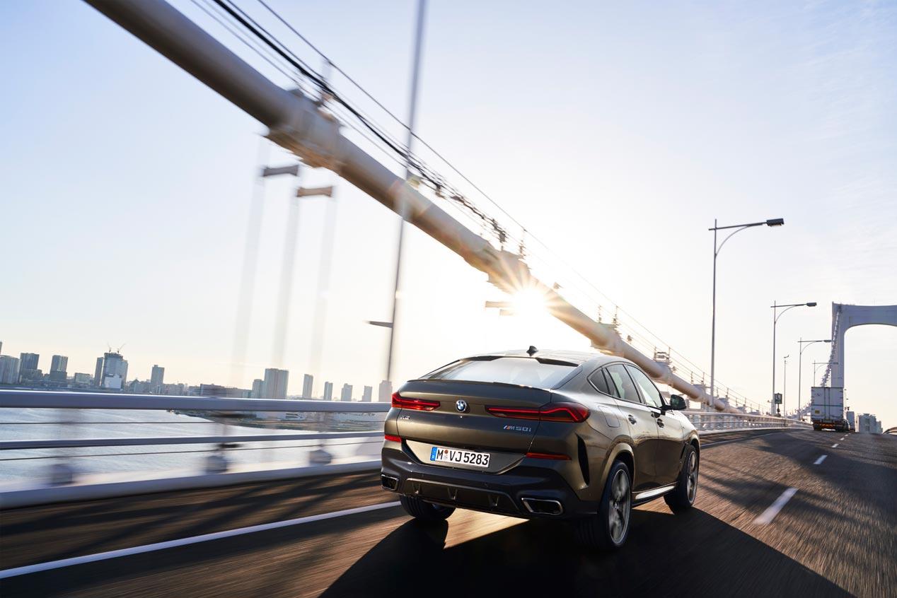 Llega la tercera generación del BMW X6