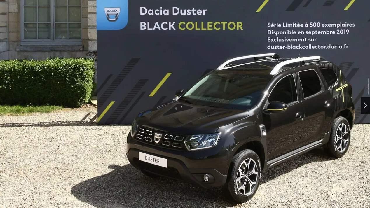 Dacia Duster Black Collector: así es la nueva edición limitada