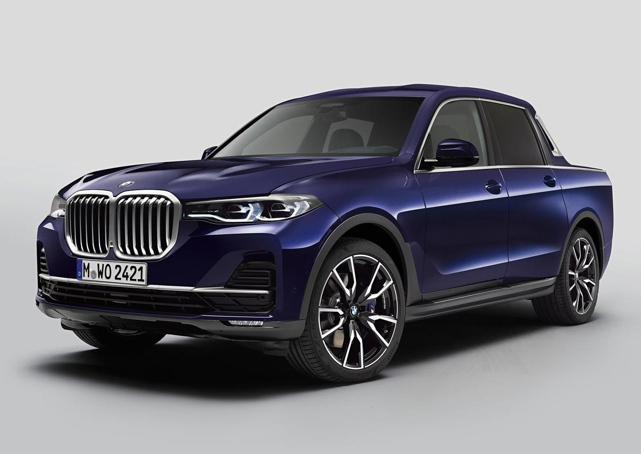 BMW X7 Pick-up Concept: todas las fotos y datos oficiales
