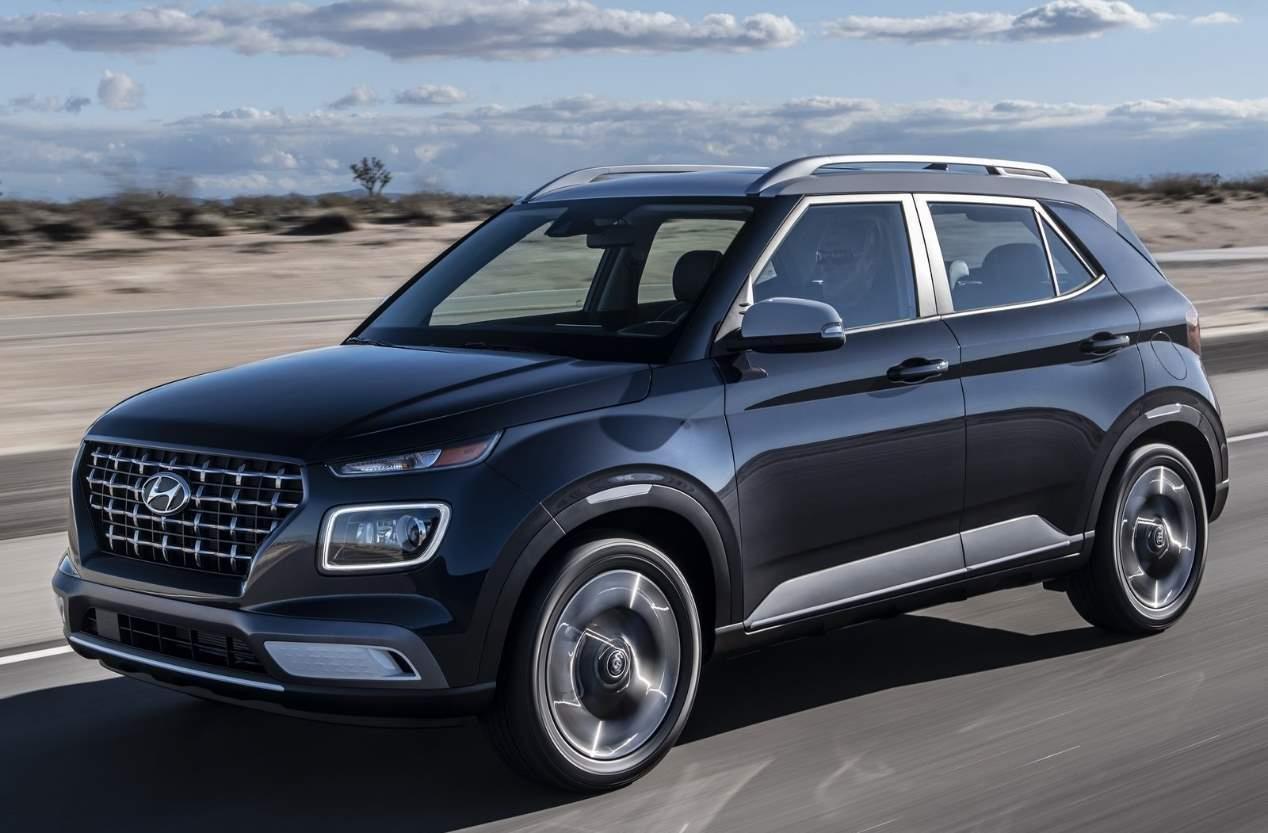 Hyundai Venue 2020: fotos oficiales del nuevo SUV