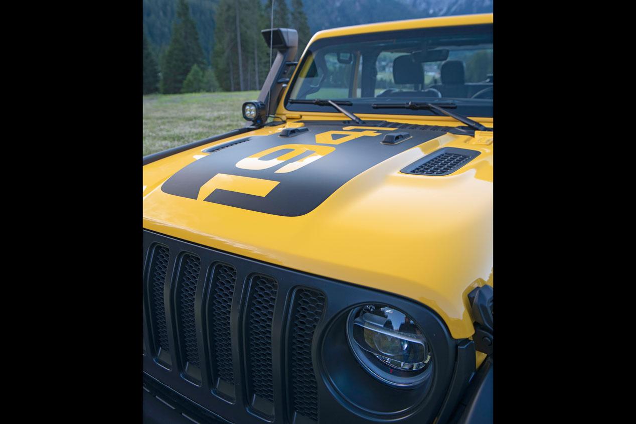 Pura personalización para el nuevo Jeep Wrangler 1941