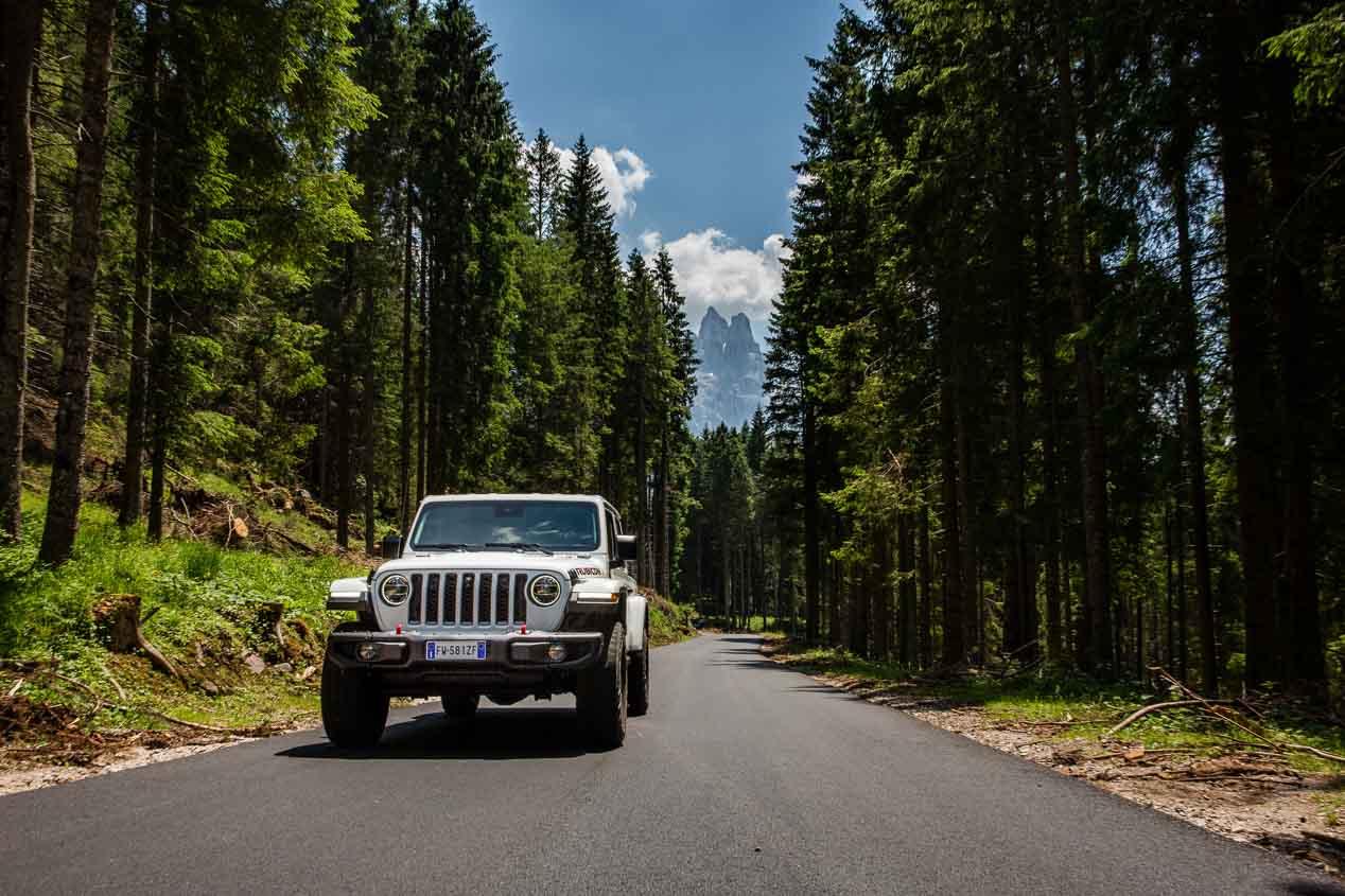 Así es el nuevo pick-up de Jeep. El Gladiator