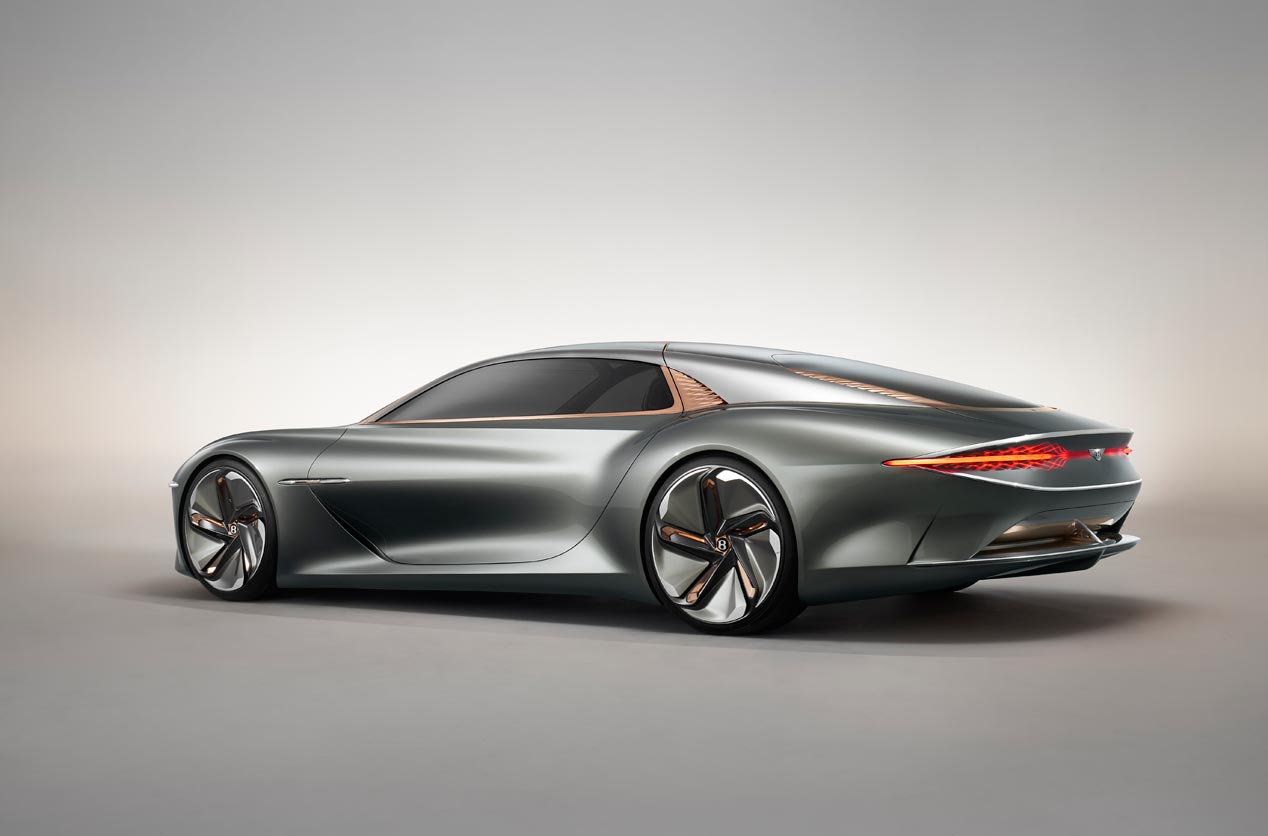Bentley EXP 100 Concept, una mirada al futuro de la marca de lujo británica