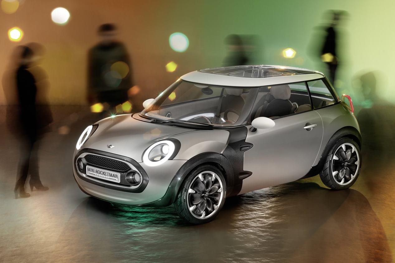 Mini Rocketman: así podría ser el nuevo coche eléctrico