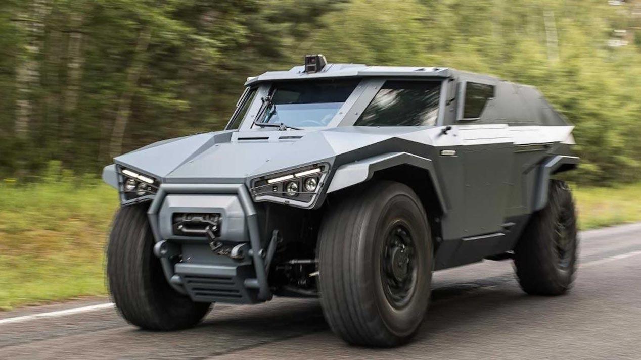 Arquus Scarabee, el nuevo vehículo militar de Volvo