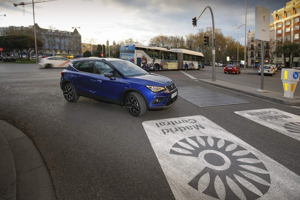 Madrid-Sevilla, por sólo 20 euros con un coche de gas natural