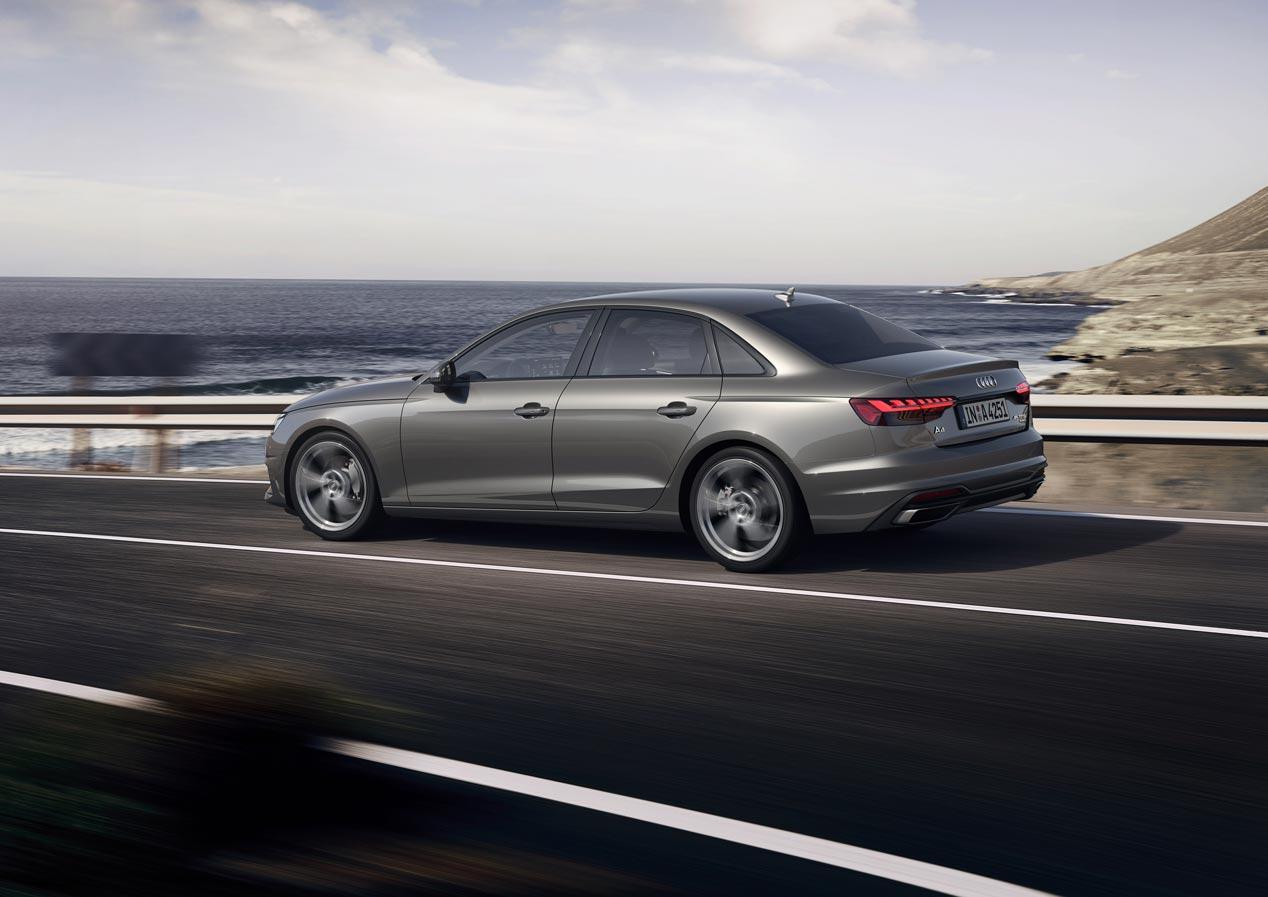 Al volante del nuevo Audi A4